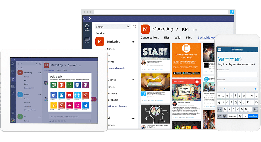 Yammer and Microsoft Teams