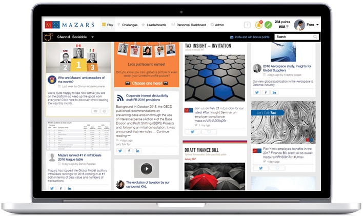 Sociabble Case Study Mazars Employee Advocacy Program