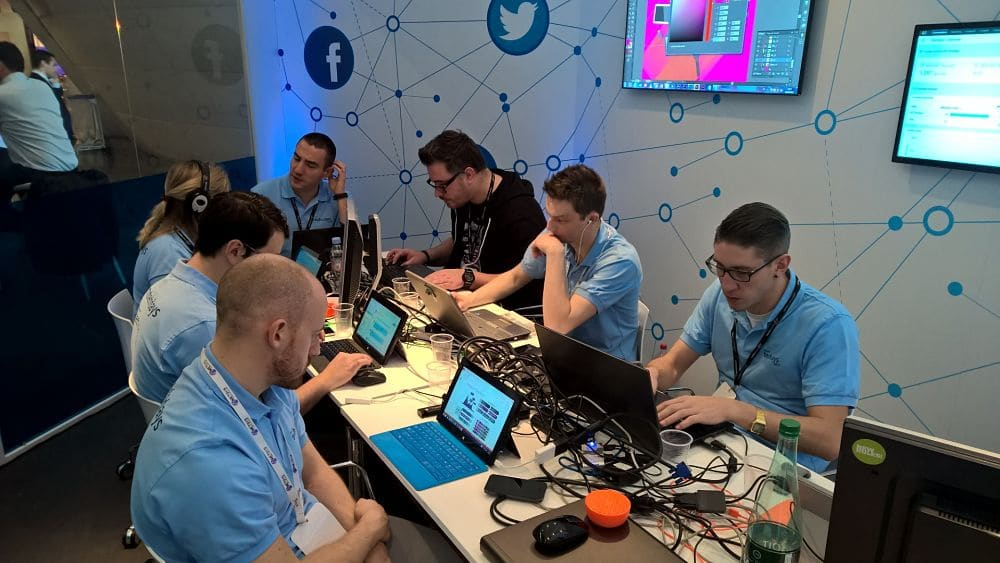 The Microsoft TechDays 2015 Social Lounge