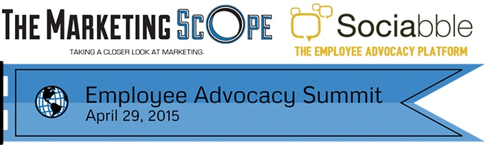 Sociabble Live at the Employee Advocacy Summit 2015