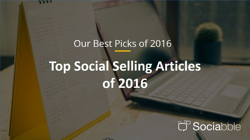 The Best Social Selling Articles of 2016
