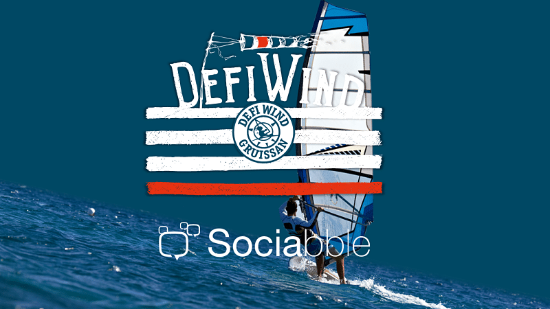 Défi Wind, the World's Largest Windsurfing Event, Builds an Online Community of Superfans with Sociabble4Fans