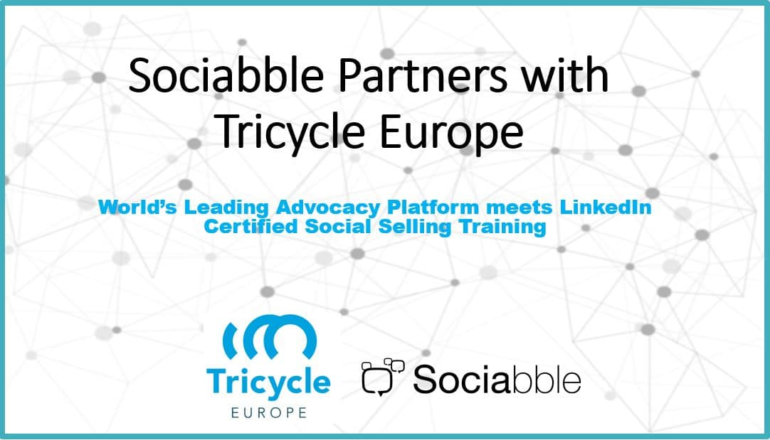 Sociabble Announces Partnership with Tricycle Europe