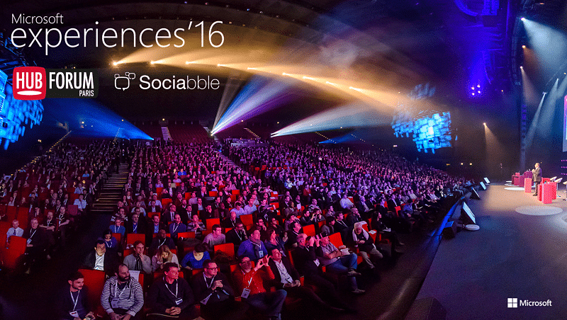 Sociabble Shares its Social Selling Expertise at Microsoft experiences and HUBFORUM Paris