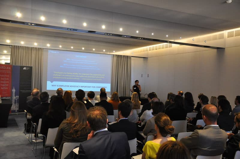Sociabble Showcases CAC 40 Companies Leading the Way in Employee Advocacy during the #EAScoreCAC40 Event in Paris