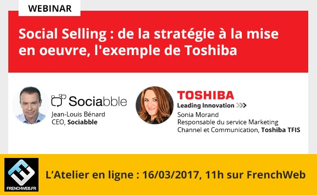 Social Selling, from Strategy to Implementation: A Webinar with Toshiba