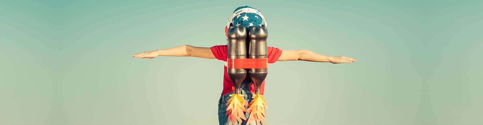 guy with jet pack employee advocacy beyond the share
