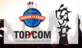 Microsoft House of Fans Program Wins Top Com Grand Prix