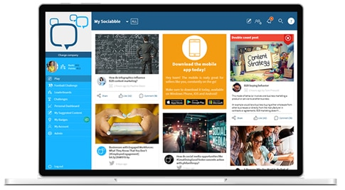Sociabble Platform - Workplace by Facebook
